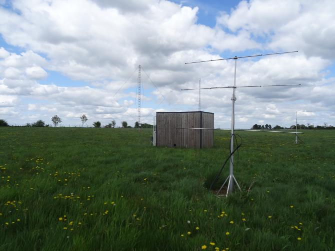 West, North and VLF antennas